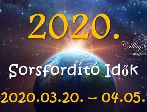 2020. SORSFORDÍTÓ IDŐK